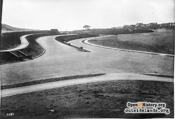 29th Ave and El Camino del Mar in SF on 1915